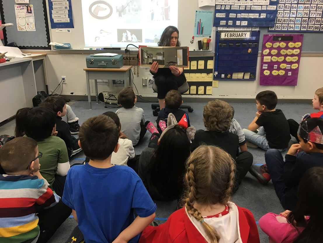 Kari Rust at World Read Aloud Day 2019